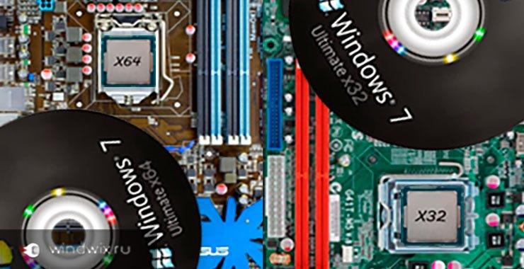 В чем разница x86, x64 и x32 и как правильно выбрать разрядность windows?