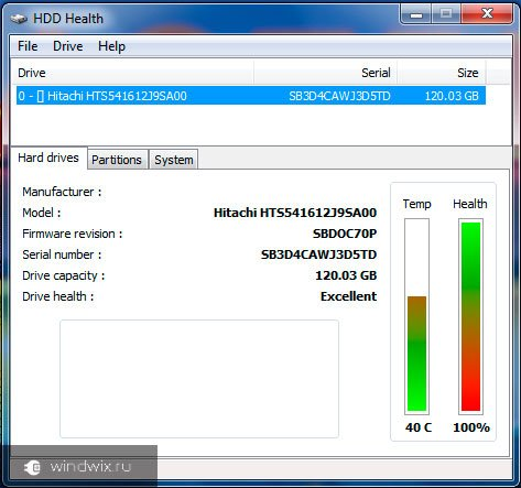 HDD Health
