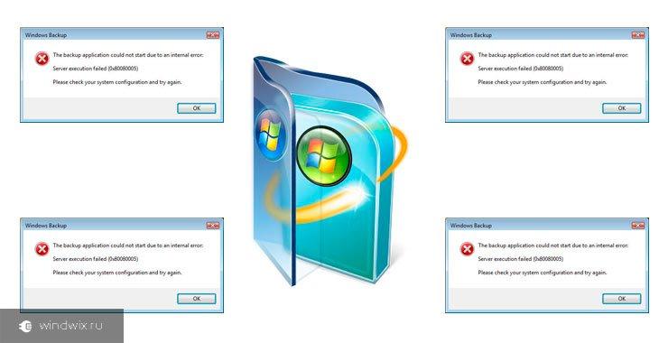 Причины возникновения ошибки обновления 80080005 в Windows 7 и методы ее устранения