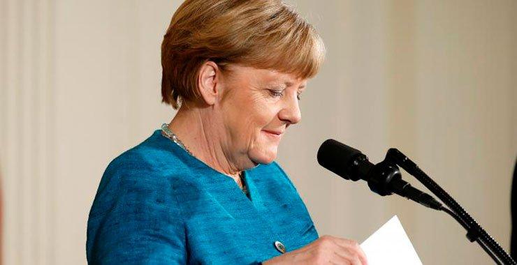 Канцлер Германии Ангела Меркель призывает к Европейским правилам по использованию данных