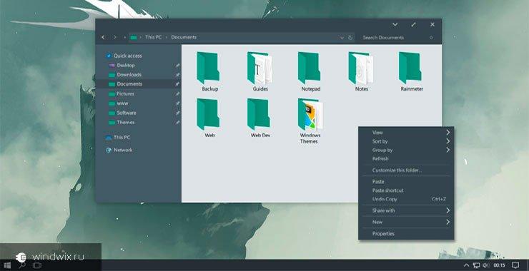 Как менять темы в windows 10 1607 при помощи встроенных возможностей и сторонних инструментов?