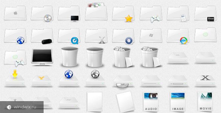 Как скачать и установить иконки Mac OS для Windows вручную и с помощью программы?