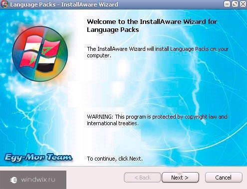 Language Packs