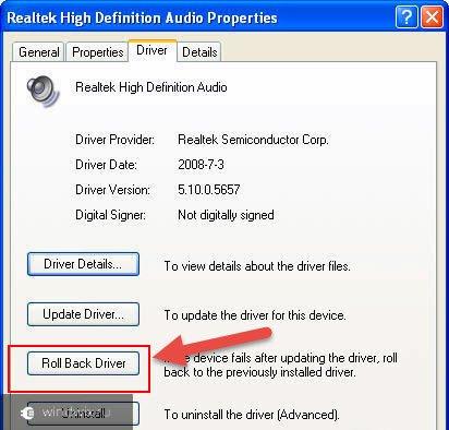 Как восстановить звук на ноутбуке windows xp