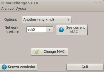 Скачать Macchanger и сменить MAC-адрес компьютера