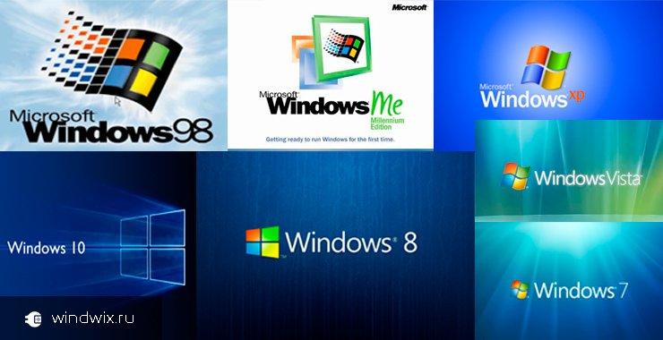 История ос windows! Какой она была 10 лет назад и какая она сейчас?