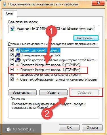 Протокол Интернет 4