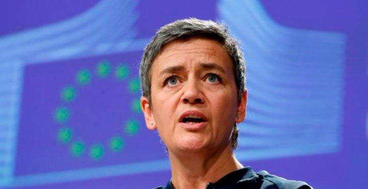 Глава антимонопольного ведомства ЕС Маргрет Вестагер говорит, анализируя ответ Facebook в whatsapp зонд