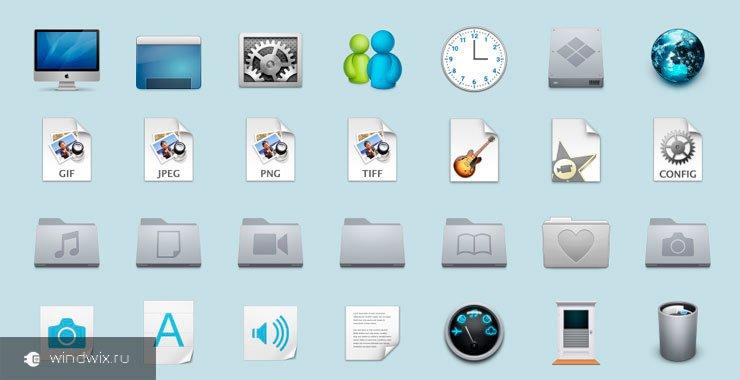 Как скачать и установить 7tps пакеты иконок для windows 7 и других версий?