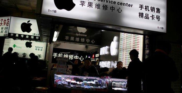 Короли и драконы ведут Apple в Китае, даже когда продажи iPhone останавливаются