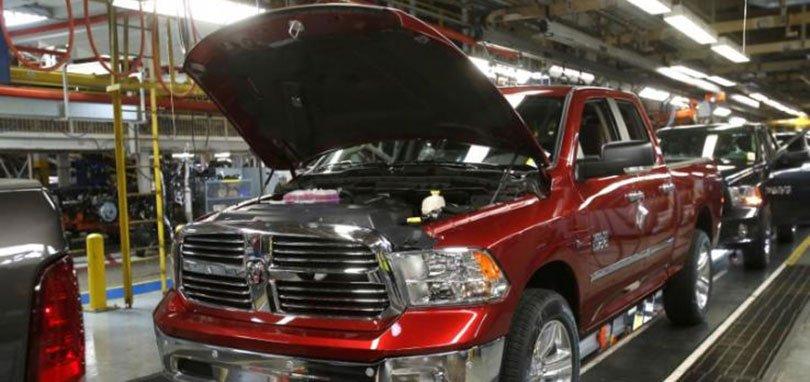 Fiat Chrysler отзывает 1,25 млн. Грузовиков по причине ошибки программного обеспечения