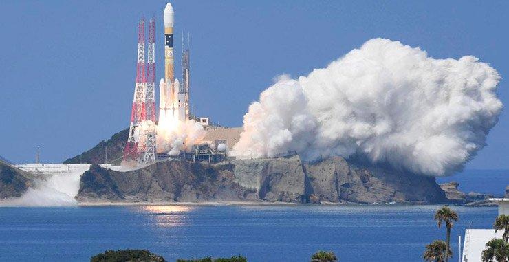 Япония запустила ракету H-2A с спуском геопозиционирования на орбиту после недельной задержки