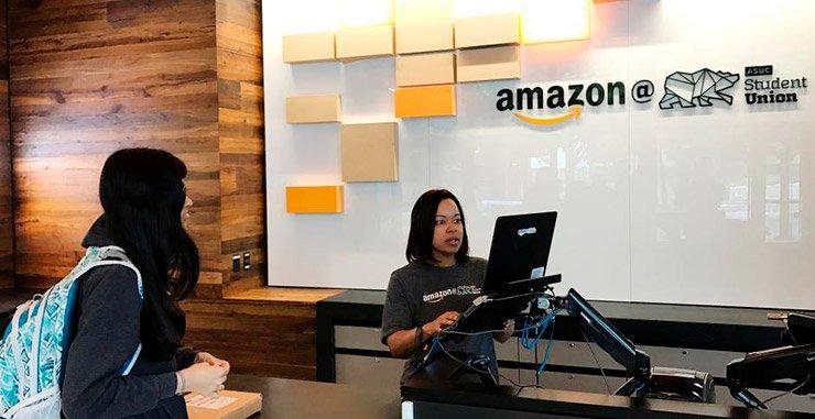 Amazon com Inc запускает точки пикапа в США, где покупатели могут получать товары сразу после их заказа, сокращая сроки доставки от часов до минут