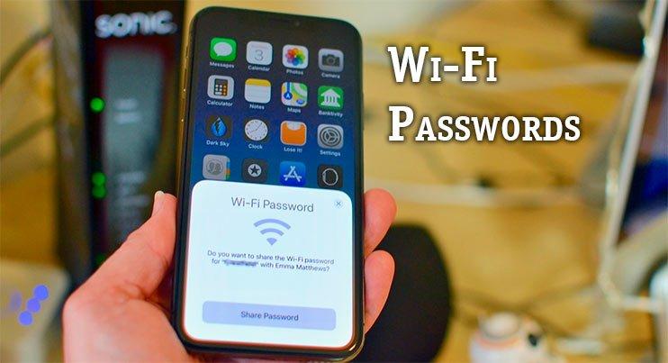 Wi-Fi Passwords подберет пароль от вай фай