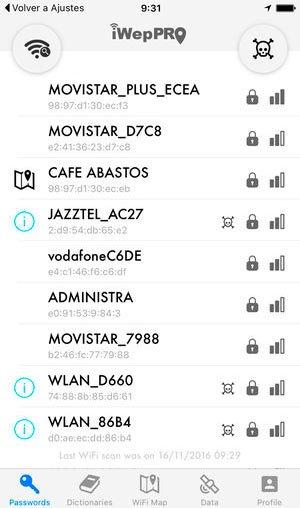 скачать iWep Lite для подбора пароля