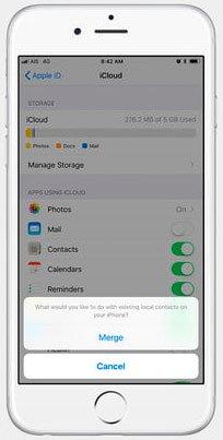 Сбрасываем все настройки айфона с помощью iCloud